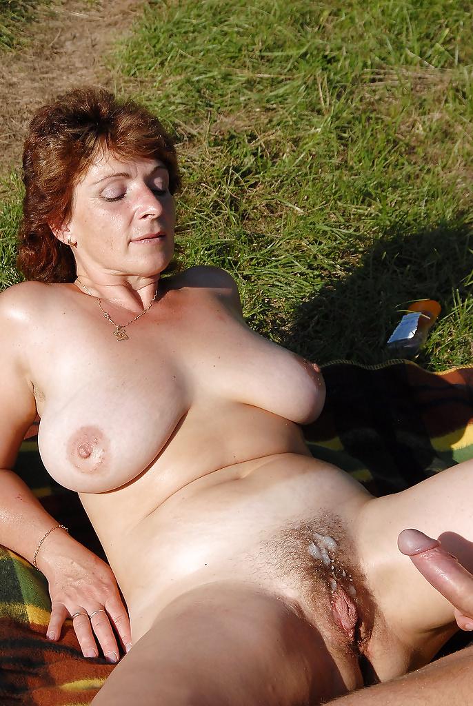 Hot Hairy Mature Fucking